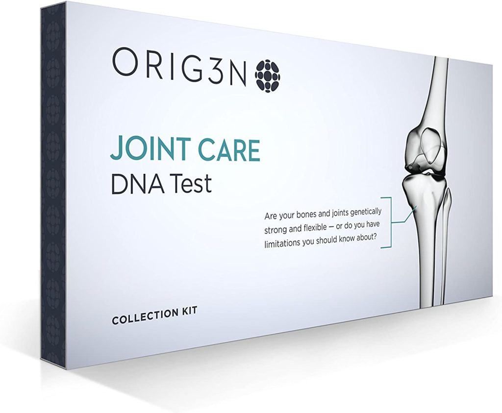 picture of box of joint care dna test