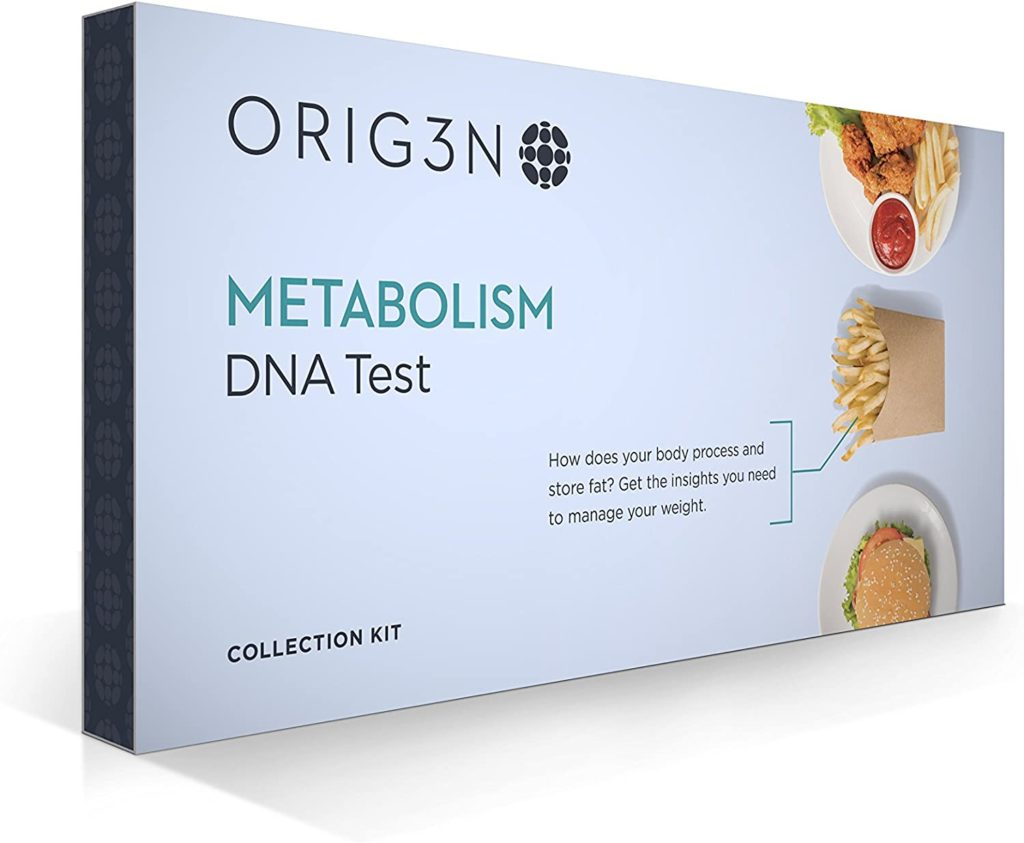 Picture of box of metabolism test.