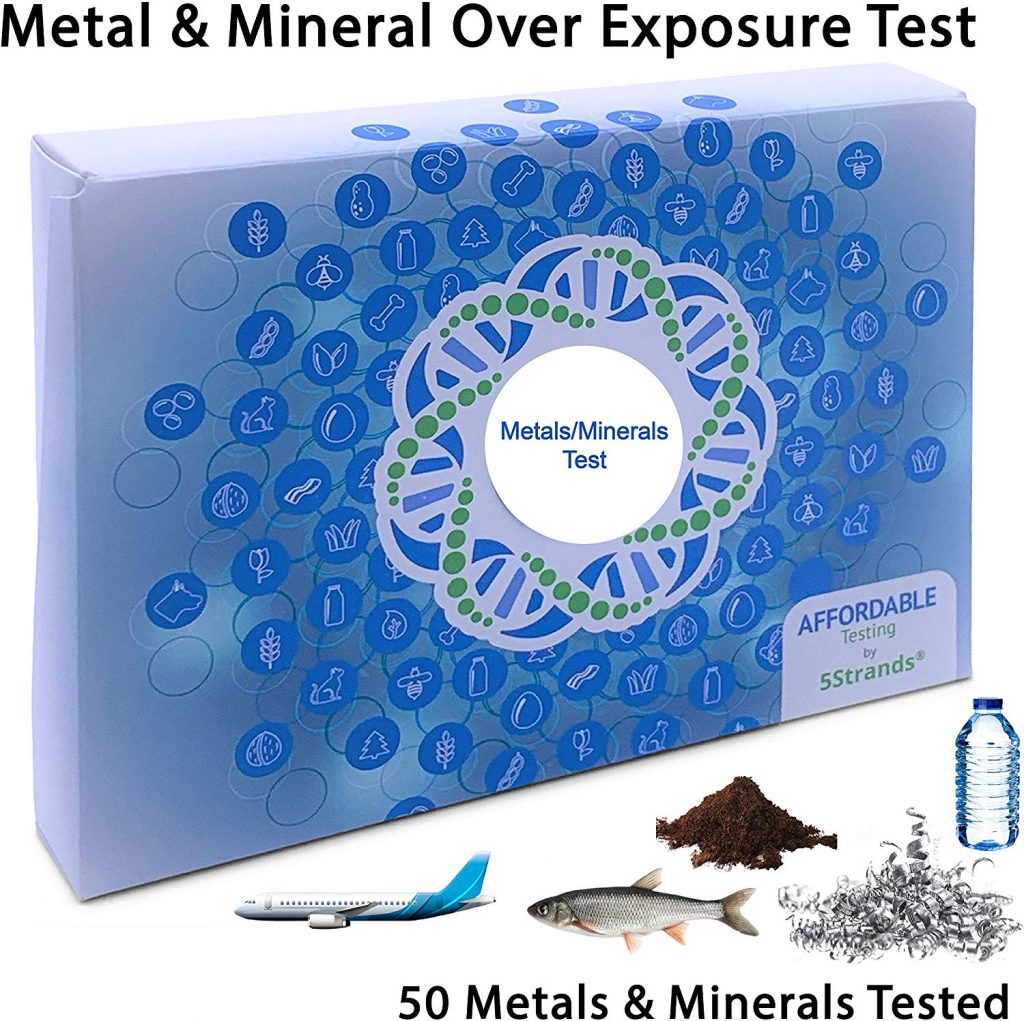 metal and mineral test under 50 dollars