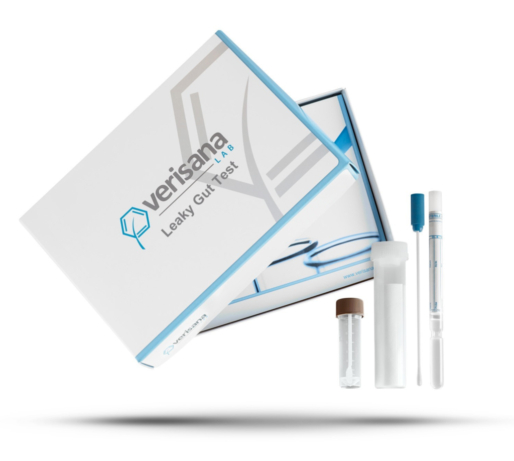 picture of verisana leaky gut test kit